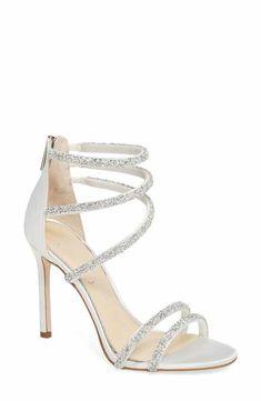 909e41512f8 Jessica Simpson Jamalee Glitter Sandal (Women) Preppy