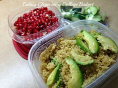 Eating Clean on a College Budget: My week as a an unintentional (intentional) vegetarian! #cleaneating #healthyincollege #eatinghealthy