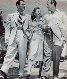 Robert Taylor, Barbara Stanwyck & David Niven