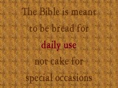 ..they received the word with all eagerness, examining the Scriptures daily.. ACTS 17:11 ESV