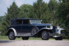 1930 ROLLS-ROYCE PHANTOM I NEWMARKET - Barrett-Jackson Auction Company - World's Greatest Collector Car Auctions