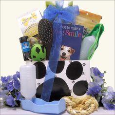 Puppy Power Pet Gift Basket