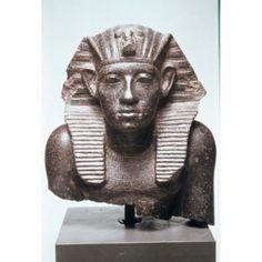 King Amenemhet III Egyptian Art Staatliche Museen Berlin Germany Canvas Art - (18 x 24)