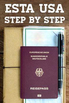 Schritt für Schritt Anleitung für ESTA Formular. Bei einer Reise in die USA ist die Beantragung von einem ESTA Antrag fällig. Hilfe zum Ausfüllen.