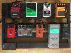 My pedalboard. ;-)