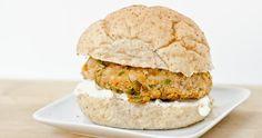 Butternut Squash Nut Burgers with Roasted Garlic Aioli - The Fig Tree