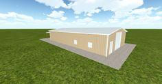 Dream #steelbuilding built using the #MuellerInc web-based 3D #design tool http://ift.tt/1ldW6Te