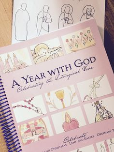 """""""How to Draw St Joseph""""from A YEAR WITH GOD: Celebrating the Liturgical Year ( Little Way Press)"""