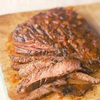 Diabetic Living: Flank Steak with Chili Sauce