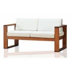 Simple Wooden Sofa Design -