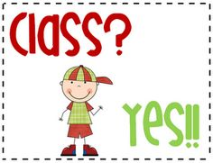 """I'm loving this blog--""""3rd Grade Thoughts"""" Class management & the WBT Class/Yes technique."""