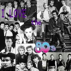 80's music ❤.....but not all of it! :)