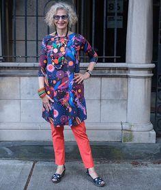Celebrating amazing Australian designers! Jewelry by @rubyoliveonline on a tunic by @karla_cola Photo by @dentontaylor #ootd #40plusstyle #fashionover50 #fashionover40 #curlyhair #fashion #fashionista #nyc #fashionoftheday  #advancedstyle  #agelessfashion #womenwithstyle #styleatanyage #50plusandfabulous #fashionover60 #fashionphotography #iwearwhatiwant  #nytstylenotage  #statementearrings #eyewear #eyewearfashion  #statementnecklace #stackedbracelets  #handmade #handmadejewelry #fly.london