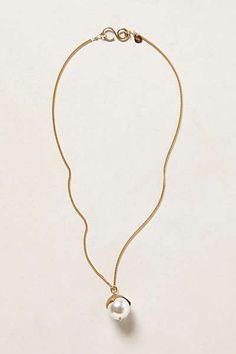 Anthropologie - Pearlblossom Pendant Necklace