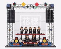 BTS Official Goods Live on Stage BTS X Oxford Brick Block Kit K-Pop Bangtan Boys  | eBay