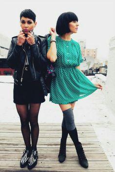 Natalie and Nicole NiNa Sky