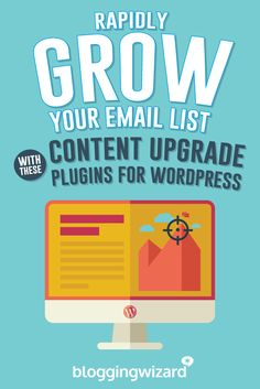 4 Top Content Upgrade Plugins For WordPress: Put Your List Building On Overdrive via @adamjc