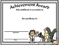 Award Certificate Templates  Overall Most Improved