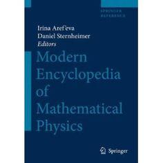 Encyclopedia of Mathematical Physics: Amazon.ca: Irina Aref'eva, Daniel Sternheimer: Books