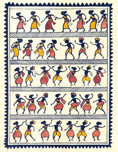 tribal painting paintings by artist from saura tribe southern orissa Tribal Drawings, Tribal Art, Art Drawings, Madhubani Art, Madhubani Painting, Kalamkari Painting, Krishna Painting, Worli Painting, Fabric Painting