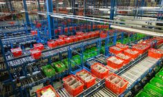 Retailer's stock price falls 8% as fears grow that new online grocery delivery service could cause tremors in an already competitive sector