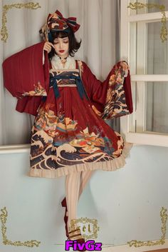 LolitaWardtobe - Bring You the latest Lolita dresses, coats, shoes, bags etc from Trustworthy Taobao indie Brands. We never resell Lolita items from untrustworthy Taobao stores. Japanese Outfits, Japanese Fashion, Asian Fashion, Cute Fashion, Girl Fashion, Fashion Design, Fashion Goth, Steampunk Fashion, Fashion Poses