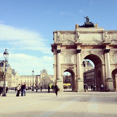 Walking through the Tuileries to the Louvre has to be one of our favorite things yet. - @garypeppergirl- #webstagram