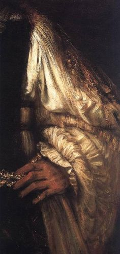 Aristotle With a Bust of Homer (detail) Rembrandt, 1653