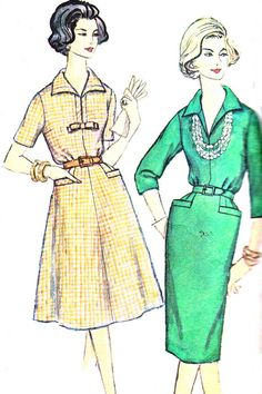 1950s Dress Pattern Simplicity 3121 Flared Skirt or by paneenjerez, $10.00