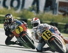 Freddie Spencer and Barry Sheene