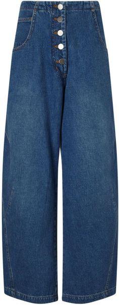 Rachel Comey Blue Carrot Leg Elkin Jeans