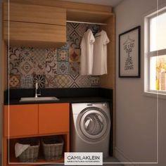 Mesmo a lavanderia sendo um local pequeno, é interessante caprichar na…