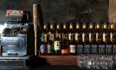Pop's San Francisco: back bar -  Designer: zero ten design -  Image courtesy Molly DeCoudreaux