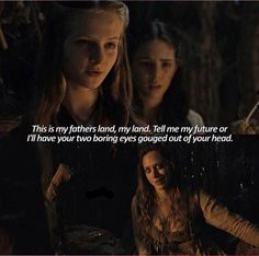 Little Cersei learned charm at a young age