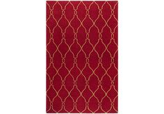 Shop for a Moroccan Red 5 x 8 Rug at Rooms To Go. Find Rugs that will look great in your home and complement the rest of your furniture.