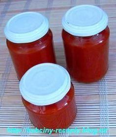 Kečup | Babčiny recepty Ketchup, Salsa, Jar, Food, Meal, Salsa Music, Restaurant Salsa, Essen, Jars