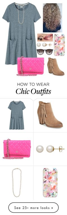 """""""/we're all in this together\"""" by mackenziebarnett0719 on Polyvore featuring Toast, Vince Camuto, Chanel, Casetify, Honora, Ray-Ban and Lauren Ralph Lauren"""