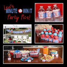 Paper Perfection: More Minute To Win It Party Pictures! Coca-Cola #ShareaCokeSweepstakes