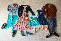 Great post about what to wear in family photos #photography #clothing