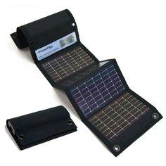 PowerFilm USB+AA Solar Charger 148g 8,900円 使用時サイズ620x140 収納時サイズ83x140x35