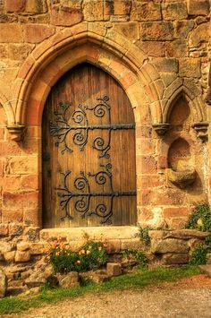 Wooden entrance, Bolton Abbey, England How amazing!!