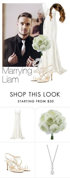 """REQUESTED: Marrying Liam"" by style-with-one-direction ❤ liked on Polyvore featuring Phase Eight, Jimmy Choo, Swarovski, Reeds Jewelers, OneDirection, LiamPayne, 1d and liam payne one direction 1d"