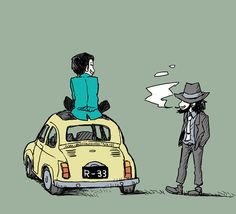 Lupin and Jigen