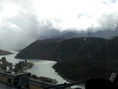 Pyramid lake in the grapevine