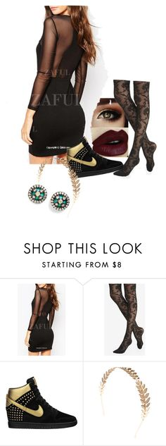 """""""Selena Gomez - Come and get it"""" by music-fanatic-wolf on Polyvore featuring Express, NIKE, Wet Seal and Freida Rothman"""