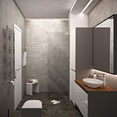 Modern bathroom on Behance
