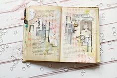 Art journal spread by Marta Turska Grochocka