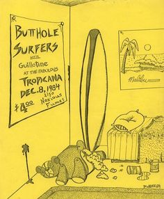 Butt hole surfers lyrics — img 3