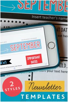 Classroom newsletters that are fast and easy for teachers, and more accessible for parents. $