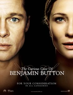 THE CURIOUS CASE OF BENJAMIN BUTTON: Tells the story of Benjamin Button, a man who starts aging backwards with bizarre consequences. A beautiful romantic movie starring Brad Pitt, Cate Blanchett and Tilda Swinton. Hd Movies, Movies To Watch, Movies And Tv Shows, Movies Free, Movies Online, The Proposal 2009, Letters To Juliet, Walk To Remember, A Cinderella Story